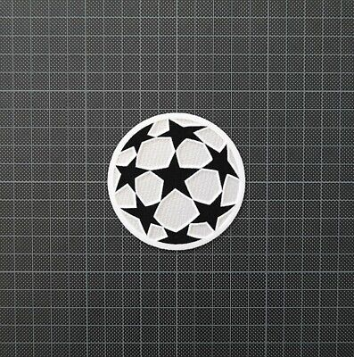 £8 • Buy UEFA Champions League Starball Football Patches 1996-2000 & 2001-2003 White