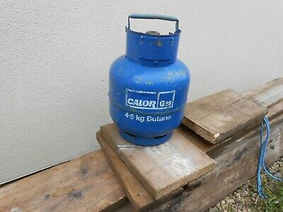 Calor 4.5 Kg Butane Gas Bottle. FULL Cylinder Inc Cap. OX14 • 30£