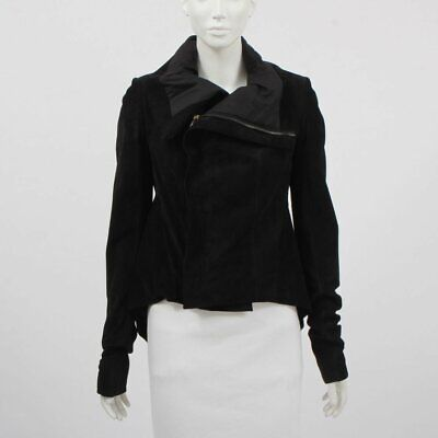 £214.98 • Buy Rick Owens Suede Leather Jacket Size 12