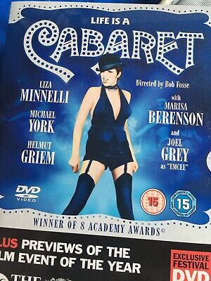 Life Is A Cabaret Dvd - Liza Minnelli Times Promo Dvd • 0.99£