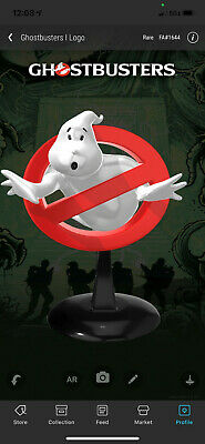 $282 • Buy VeVe NFT Ghostbusters Logo 'Mooglie' - Rare - FA #1644 - SOLD OUT
