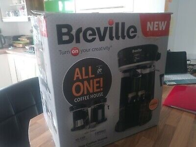 £100 • Buy BREVILLE 'All In One' - House Coffee Machine - Filter & Espresso & Pods  VCF117