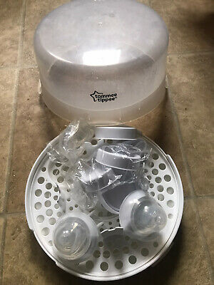 £12.99 • Buy Tommee Tippee Essentials Microwave Steriliser Up To 4 Bottles 4 Mins Quick Cycle