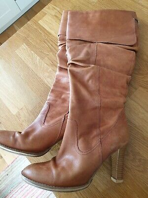 £3.50 • Buy Red Herring Tan Knee High Boots Size 4
