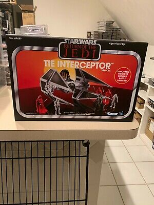 $ CDN483.97 • Buy Star Wars The Vintage Collection Tie Interceptor Vehicle Rotj Amazon Exclusive
