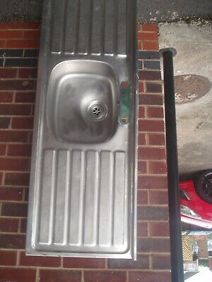 Stainless Steel Double Drainer Sink • 40£