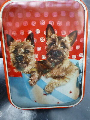 Old Sweet Toffee Tin Yorkshire Terriers Edward Sharp Maidstone  • 8.99£