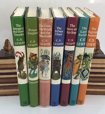 £75 • Buy The Chronicles Of Narnia By C S Lewis, Complete Set, Published By Collins