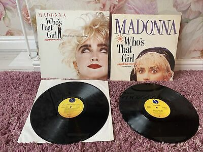 £4.99 • Buy 2 X Madonna Who's That Girl Vinyl Records 12  Single W8341t Wx102