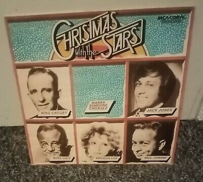 £8.99 • Buy *RARE* Christmas With The Stars Compilation LP UK 1974 Coral EXC