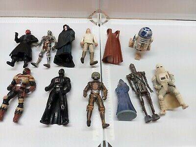 $ CDN0.99 • Buy Lot Of Vintage Star Wars POTF2 Modern Maul IG-88 Others Action Figures As Is