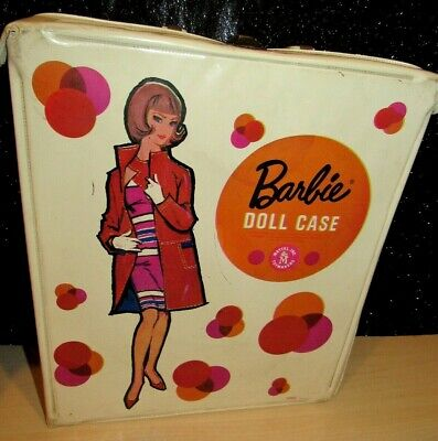 $ CDN14.50 • Buy Vintage American Girl Barbie Doll Case #1002, 1958, Mattel Toymakers, Original!