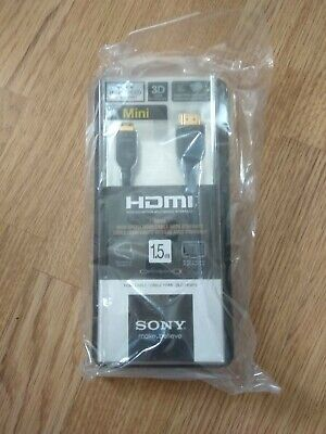 £29 • Buy Sony - High Quality 1.5m HDMI To Mini HDMI Cable