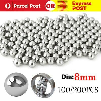 AU6.95 • Buy Steel Loose Bearing Ball Replacement Parts 8mm Bike Bicycle Cycling Stainles I