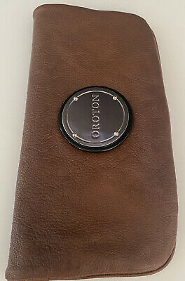 AU45 • Buy Authentic Oroton Brown Leather Clutch/Wallet
