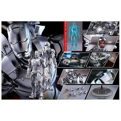$ CDN656.34 • Buy Hot Toys Iron Man Mark II Mk 2 Diecast 1/6 Action Figure MMS431D20 Exclusive Ver