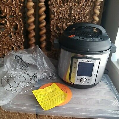 $ CDN78.65 • Buy SEE NOTES Instant Pot Duo Evo Plus Pressure Cooker 10 In 1 6 Qt 48 One Touch