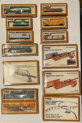 $ CDN77.22 • Buy Vintage Tyco Ho Scale Train Cars And Sets In Box Lot Of 12