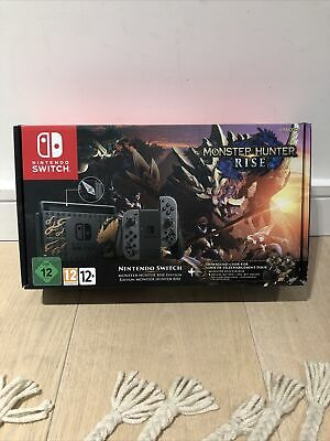 $ CDN564.24 • Buy Nintendo Switch Console - Monster Hunter: Rise Edition (Switch) - NEW AND SEALED
