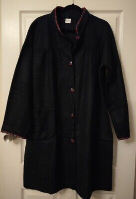 AU10 • Buy Damart, Navy Dressing Gown, Size Large, New Without Tags