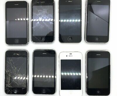 $ CDN48.36 • Buy Lot Of 8 Apple IPhone's, Broken, Not Working, Sold As Is Parts And Repair Only.
