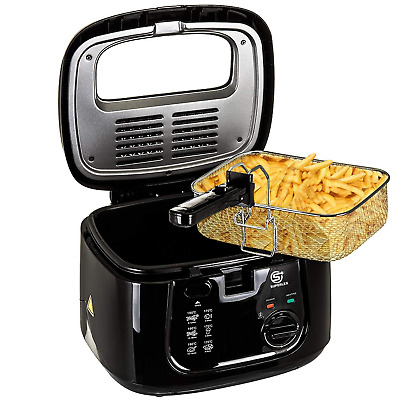 £29.99 • Buy Electric Deep Fat Fryer Non-stick Chip Pan & Basket With View Window 2.5L 1800W