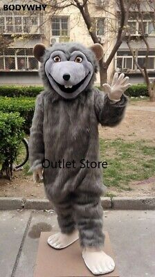 £239.80 • Buy Rat Mouce Mascot Costume Suit Cosplay Party  Dress  Easter Adult  Apparel