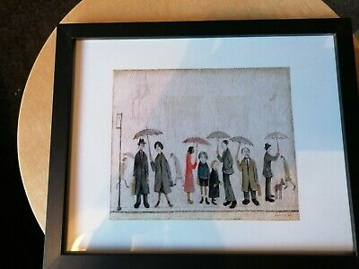 £7.99 • Buy L. S Lowry  Waiting At The Bus Stop  Framed Print.