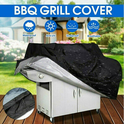 AU19.99 • Buy BBQ Cover 2/4/6 Burner Heavy Duty Outdoor Gas Rain Barbecue Grill Home Protector