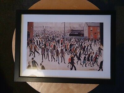 £6.99 • Buy L.s Lowry   Coming From The Match  Framed Print