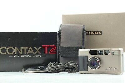 $ CDN1395.11 • Buy 【NEAR MINT In Box】 Contax T2 35mm Point & Shoot Film Camera Date Back From JAPAN