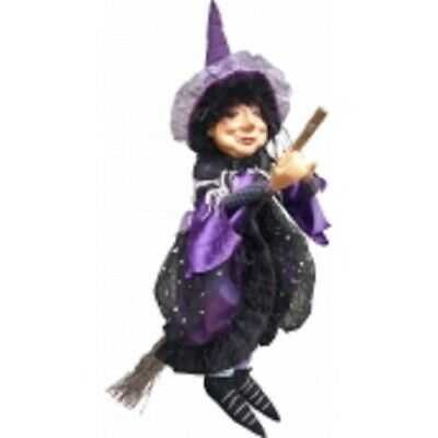 £37.50 • Buy Witches Of Pendle *elizabeth Device  Purple Flying  Witch Info Book Pagan