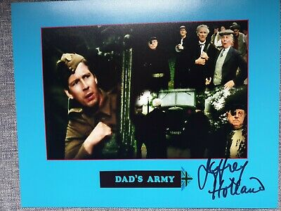 £17.99 • Buy Jeffrey Holland Dads Army.genuine Hand Signed 10x8 Photo Coa 1541