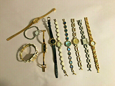 $ CDN37.51 • Buy Vintage Watch Lot Gucci & Waltham & Others 10 In All Battery, Repair, Or Craft