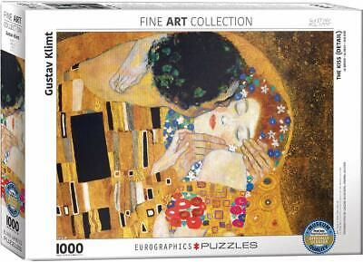 $ CDN28.97 • Buy Eurographics The Kiss (Detail) By Gustav Klimt 1000-Piece Puzzle FREE SHIPPING