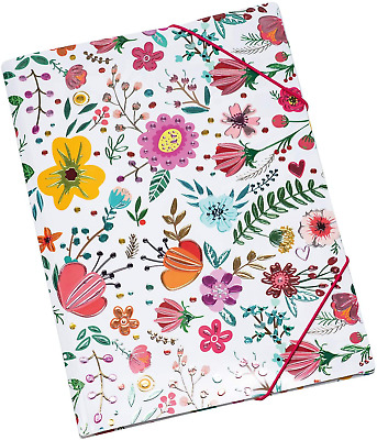 £9.28 • Buy HERMA Elastic Folder Twinkle With Spring Meadow Motif, A4, Sturdy Plastic, With