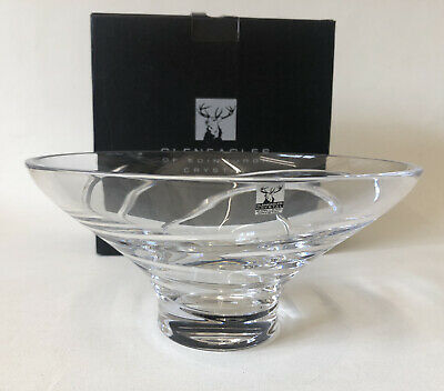 £45 • Buy Boxed Sorrento Footed 24% Lead Crystal Bowl By Gleneagles Of Edinburgh