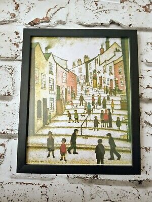 £12 • Buy Ls Lowry  Crowther Street 1930.Signed & Dated Framed Print.