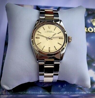 $ CDN6317.97 • Buy Rolex Oyster Perpetual - Solid 18 Carat Gold & Stainless Steel - UNISEX MIDSIZE