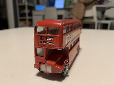 $ CDN6.03 • Buy Budgie Toys AEC Routemaster 64 Seater Double Decker London Bus Made In England