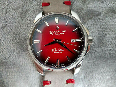 $ CDN411.13 • Buy Meccaniche Veneziane Automatic Watch Redentore Red