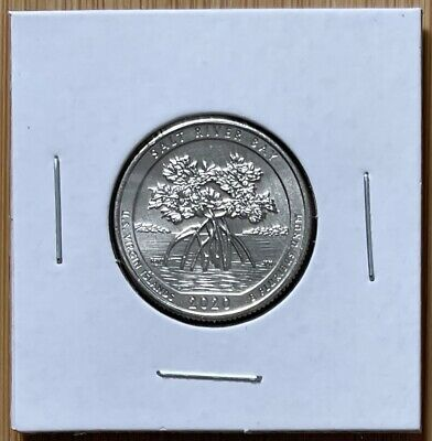 $ CDN1.20 • Buy 2020-w Salt River Bay Nat'l Park Quarter, Wwii V75, America The Beautiful
