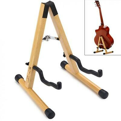 $ CDN39.05 • Buy Solid Wood Floor Guitar Stand Durable Thicken Beech Stable Holder For Bass