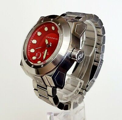 $ CDN214.96 • Buy RARE,UNIQUE Men's AUTOMATIC Watch ANDROID AD596 In BOX