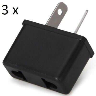 AU5.60 • Buy 3 X USA, EU To Australia, Power Plug Travel Adapter (SQ.D)