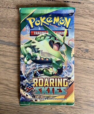 AU23.95 • Buy 1x Pokemon XY Roaring Skies Booster Pack - Brand New From Booster Box🔥Unweighed