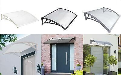 £54.99 • Buy New Durable Door Canopy Awning Front Back Patio Porch Shade Shelter Rain Cover