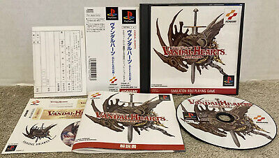 £35.39 • Buy Vandal Hearts Playstation 1 PS1 PSX Sony Japan W/ Spine EXCELLENT CONDITION