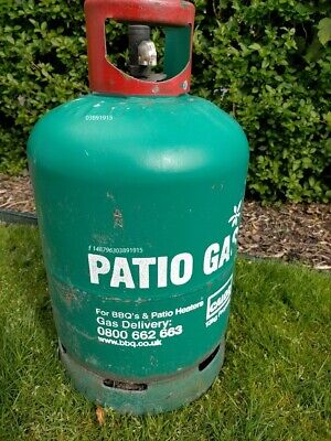 £39.99 • Buy Empty Calor Patio Gas Bottle 13kg Return For A Replacement In Time For Bank Hol