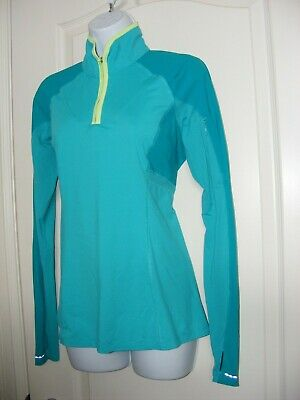 $ CDN30.32 • Buy Women's 8 Lululemon Long Sleeved T-shirt Top Bnwot 1/4 Zip Lulu Blue Yoga Run